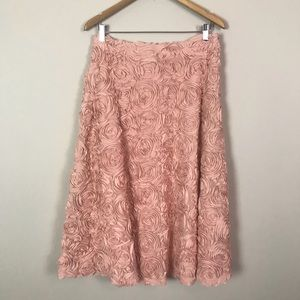 Anthropologie | HD in Paris | Petaluna pink skirt